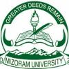 Mizoram University Recruitment – Part-time Staff Vacancy – Last Date 12 April 2018